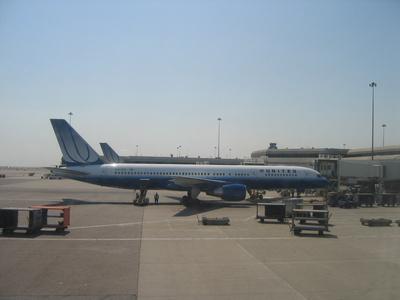 Boeing 757-222 der United Airlines