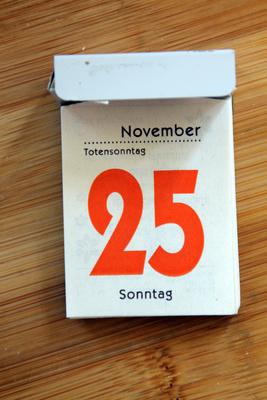 25.November