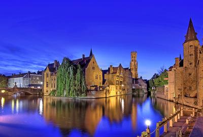 Rozenhoedkaai Brügge, Belgien