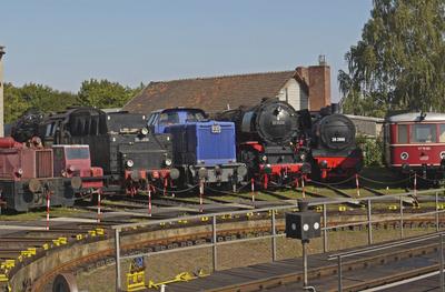 Im Eisenbahnmuseum