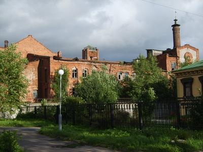 Alte Wodka - Brennerei in Archangelsk