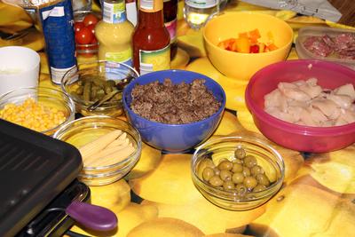 Raclette an Silvester