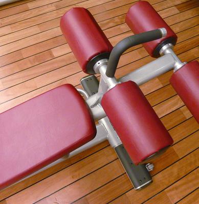 Im Fitness-Studio