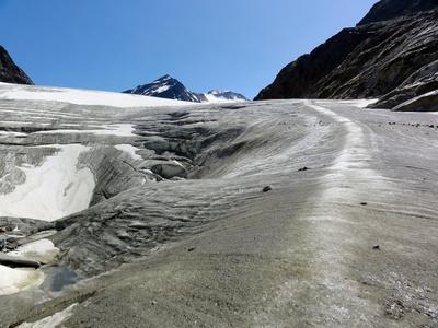 Gletscher im Pitztal