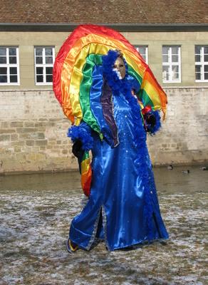 Hallia Venezia, Maske Regenbogen