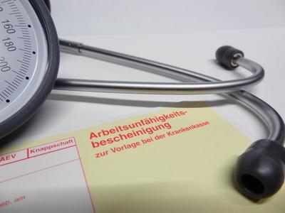Arzt-Arbeitsunfähigkeitsbescheinigung