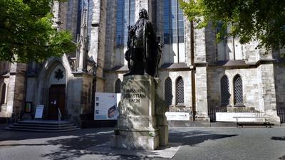 Leipzig - Bach-Denkmal