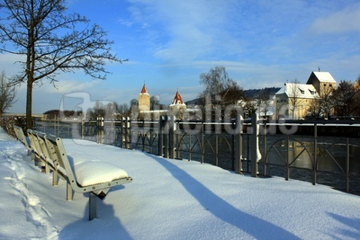 Winter am RMD-Kanal