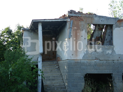 Zerstörtes Haus in Kroatien2