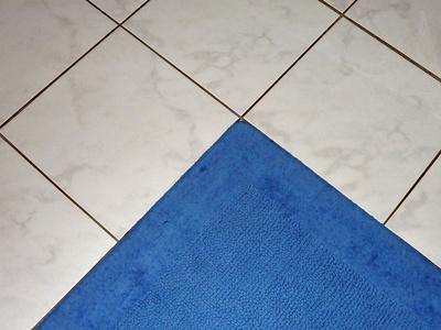 Teppich - Fliesen