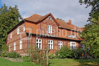 Fachwerkhaus in Gingst/Rügen