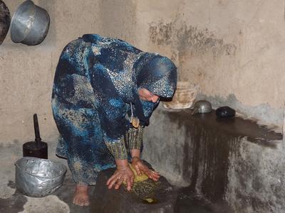 Oman: altes Oasendorf Al Hamra 4
