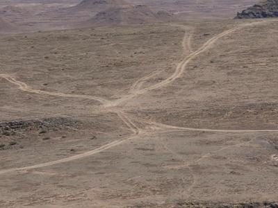 Wege in der Wüste