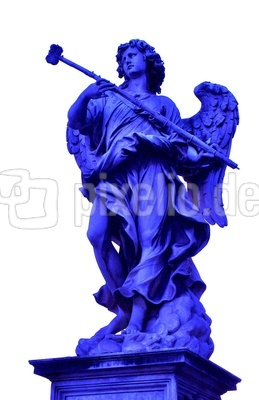 der königsblaue Engel