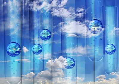 Erde im Reagenzglas - Umweltschutz