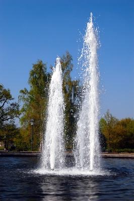Frühlings-Fontainen