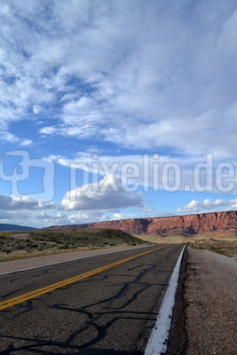 road to grand canyon