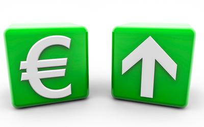 Euro aufwärts