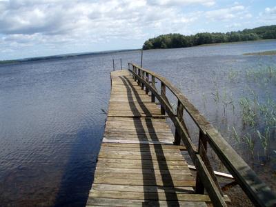 Steg am Opmannasjön, Schweden