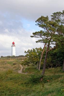 """Leuchtturm """"Dornbusch"""" auf Hiddensee"""
