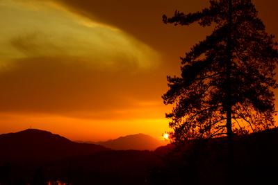 Sonnenuntergang / Vergänglichkeit