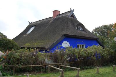 Die »blaue Scheune« auf der Insel Hiddensee