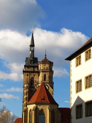 Stiftskirche Stuttgart - Perspektive 3