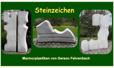Steinzeichen (Collage)