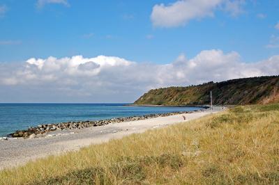 Ostseestrand auf Hiddensee zwischen Vitte und Kloster