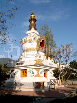 Buddhistische Pagode in Dharamsala