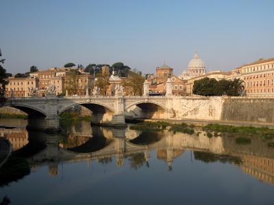 Rom - Blick zum Petersdom