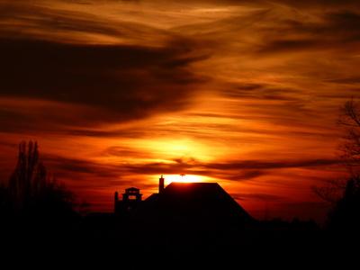 Sonnenuntergang in LO