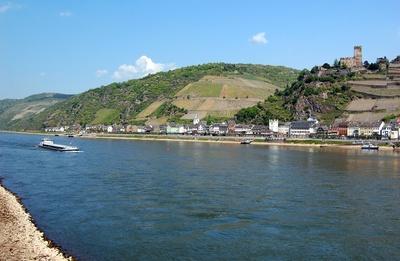 Burg Gutenfels am Rhein #3