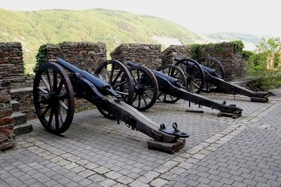 Kanonen der Burg Reichenstein