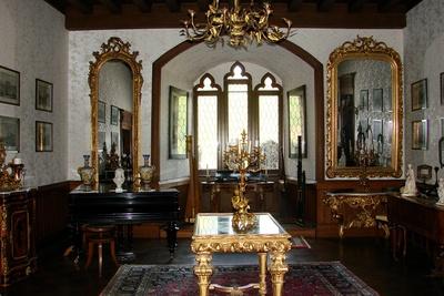Prunksaal zu Burg Reichenstein