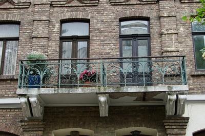 Bad Münstereifel, Altstadt  Balkon