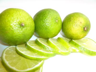 Grüne Limetten