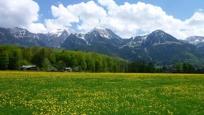 Frühling im Berchtesgadener Land