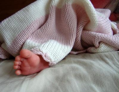 Neugeborenenfüße
