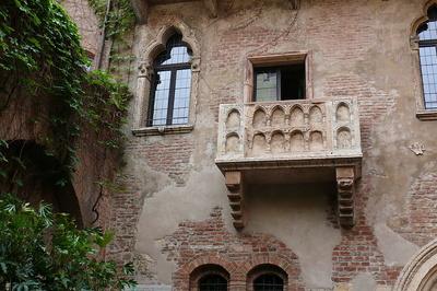 Der Balkon der Julia