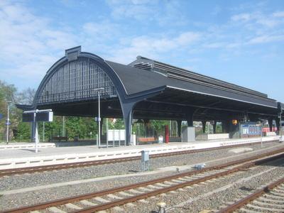 Bahnsteighalle Gera HBF