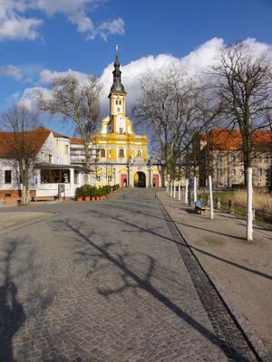 kloster, neuzelle, brandenburg, brauerei, zisterzienser