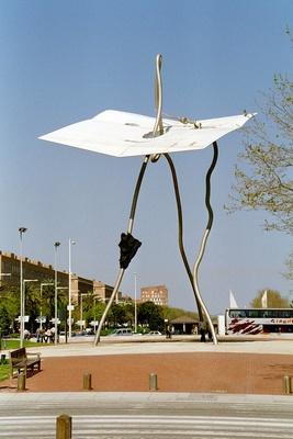 Kunstinstallation in Barcelona