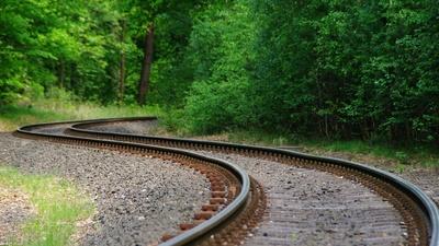 Schienenwaldweg