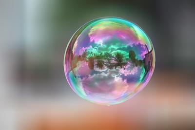 Seifenblase - Spiegelung