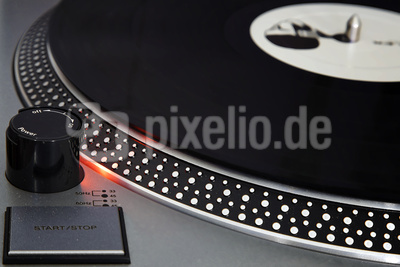 Turntable Plattenspieler