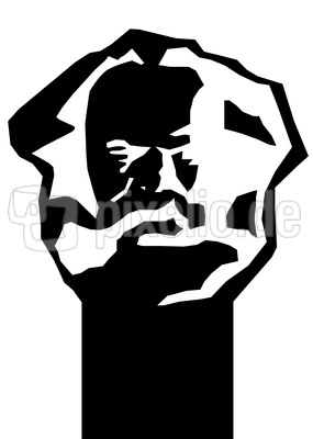 Karl Marx Kopf - D´r Nischl