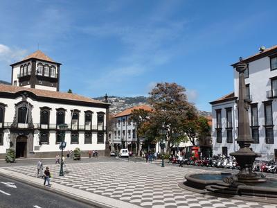 Funchal: Rathausplatz