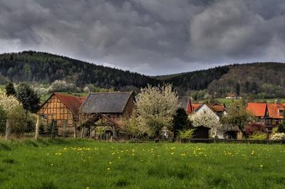 Dorf Oberode