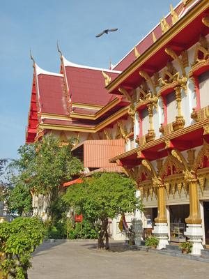 Wat Klang Kalasin, Thailand